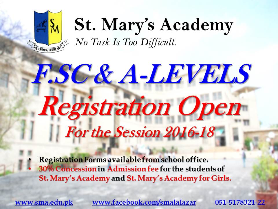 Admissions Open 2016-17